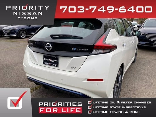 Priority Nissan Chantilly >> 2020 Nissan LEAF SV in Chantilly, VA   Washington, DC Nissan LEAF   Priority Nissan Chantilly